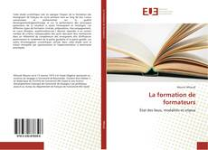 Couverture de La formation de formateurs