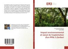 Portada del libro de Impact environnemental et social de l'exploitation d'un PFNL S.Zenkeri