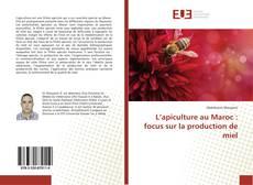 Bookcover of L'apiculture au Maroc : focus sur la production de miel