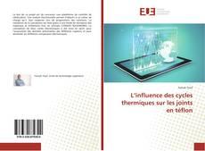 Bookcover of L'influence des cycles thermiques sur les joints en téflon
