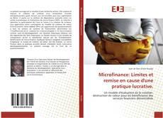Bookcover of Microfinance: Limites et remise en cause d'une pratique lucrative.