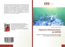 Hypnose thérapeutique en EHPAD kitap kapağı