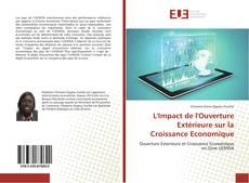 Capa do livro de L'Impact de l'Ouverture Extérieure sur la Croissance Economique