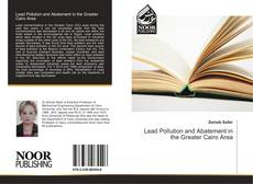 Bookcover of Lead Pollution and Abatement in the Greater Cairo Area