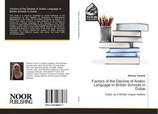 Buchcover von Factors of the Decline of Arabic Language in British Schools in Dubai