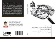 Bookcover of Translating Adeneese Colloquial Arabic into English