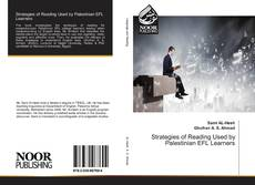 Bookcover of Strategies of Reading Used by Palestinian EFL Learners
