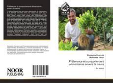 Buchcover von Préference et comportement alimentaires envers la naure