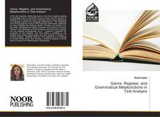 Bookcover of Genre, Register, and Grammatical Metafunctions in Text Analysis
