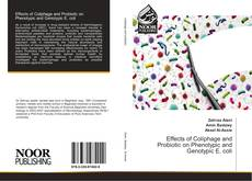 Bookcover of Effects of Coliphage and Probiotic on Phenotypic and Genotypic E. coli