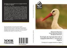 Bookcover of Ecologie de reproduction de la cigogne blanche C. ciconia en Algérie