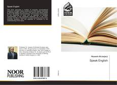 Bookcover of Speak English