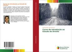 Capa do livro de Curso de Introdução ao Estudo do Direito