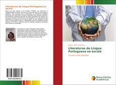 Capa do livro de Literaturas de Língua Portuguesa na escola