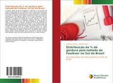 Capa do livro de Distribuição da % de gordura pelo método de Faulkner no Sul do Brasil