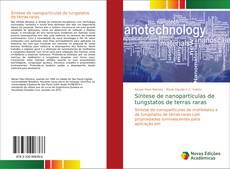 Portada del libro de Síntese de nanopartículas de tungstatos de terras raras