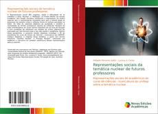 Capa do livro de Representações sociais da temática nuclear de futuros professores