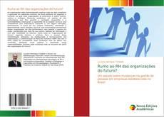 Capa do livro de Rumo ao RH das organizações do futuro?