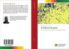 Buchcover von O silêncio do griot