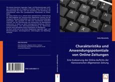 Bookcover of Charakteristika und Anwendungspotentiale von Online-Zeitungen