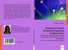 Capa do livro de Plasmonic Control of Optical Properties of Metal Films