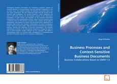 Portada del libro de Business Processes and Context-Sensitive Business Documents