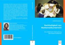 Обложка Nachhaltigkeit von Mathematikunterricht
