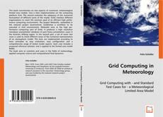 Capa do livro de Grid Computing in Meteorology