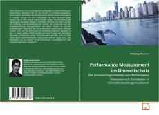 Portada del libro de Performance Measurement im Umweltschutz