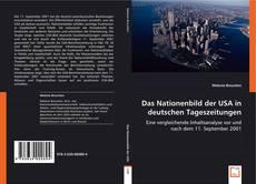 Couverture de Das Nationenbild der USA in deutschen Tageszeitungen