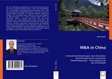Couverture de M&A in China