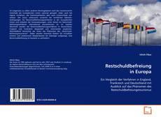 Capa do livro de Restschuldbefreiung in Europa
