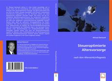 Bookcover of Steueroptimierte Altersvorsorge