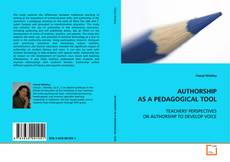 Capa do livro de AUTHORSHIP AS A PEDAGOGICAL TOOL