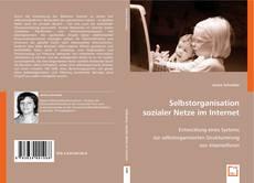 Bookcover of Selbstorganisation sozialer Netze im Internet