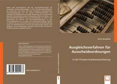 Bookcover of Ausgleichsverfahren für Ausscheideordnungen