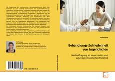 Portada del libro de Behandlungs-Zufriedenheit von Jugendlichen