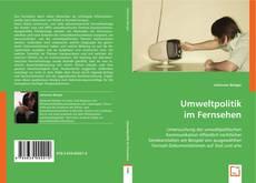 Buchcover von Umweltpolitik im Fernsehen