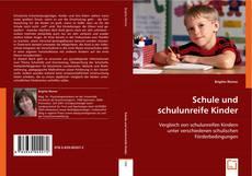 Buchcover von Schule und schulunreife Kinder