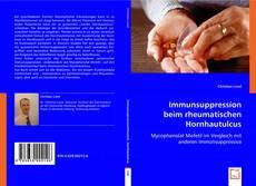 Portada del libro de Immunsuppression beim rheumatischen Hornhautulcus