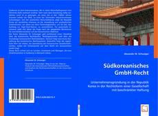 Bookcover of Südkoreanisches GmbH-Recht