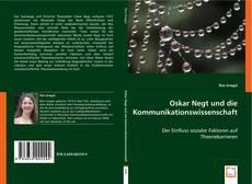 Portada del libro de Oskar Negt und die Kommunikationswissenschaft