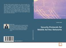 Security Protocols for Mobile Ad Hoc Networks的封面