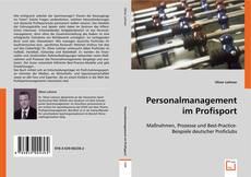 Personalmanagement im Profisport的封面