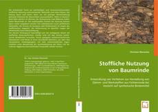 Buchcover von Stoffliche Nutzung von Baumrinde