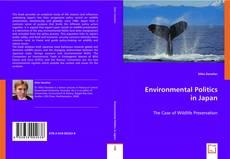 Portada del libro de Environmental Politics in Japan