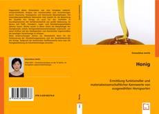 Buchcover von Honig