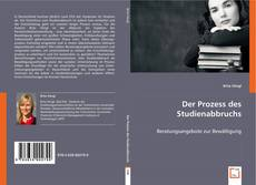 Capa do livro de Der Prozess des Studienabbruchs