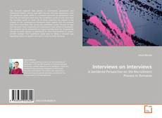 Buchcover von Interviews on Interviews