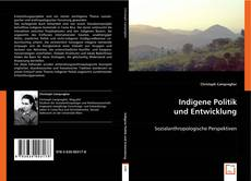 Bookcover of Indigene Politik und Entwicklung